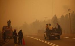Chile: descontrolados incendios dejan nueve muertos y poblados destruidos