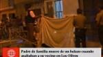 Los Olivos: hombre murió de un disparo durante asa...