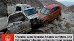 Arequipa: tres muertos tras la caída de un huaico ...