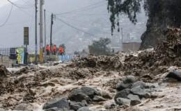 Jicamarca: nuevo huaico afectó a vecinos de San Juan de Lurigancho