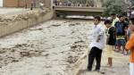 Huaico de baja intensidad llegó al puente Huaycoloro - Noticias de mario casaretto