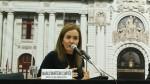 Comisión del Congreso citó a ministra de Educación por currícula escolar - Noticias de justiniano apaza