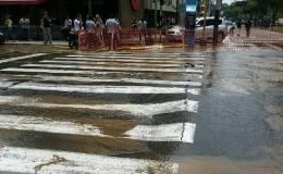 Miraflores: restringen servicio de agua potable por rotura de tubería