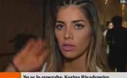 ¿Korina Rivadeneira disculpó a Lucas Piro por incidente?