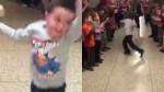 Facebook: niño celebró el fin de su tratamiento de cáncer - Noticias de cesar gamboa tenorio