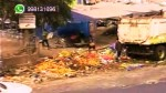 El Agustino: basura se acumula en la avenida Nicolás Ayllón - Noticias de nicolas ayllon