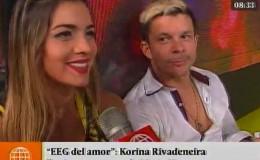 Mario Hart y Korina Rivadeneira: el detrás de cámaras de romántica sorpresa