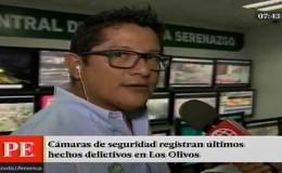 Los Olivos: cámaras de seguridad permiten capturas de delincuentes
