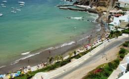 Santa María del Mar: playa con buena infraestructura, pero insalubre