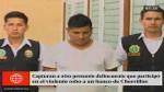 Chorrillos: capturan a otro delincuente vinculado ...