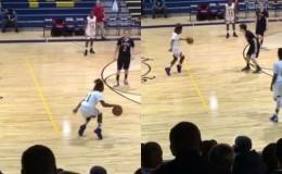 Facebook: comienza a bailar en pleno partido de basket y molesta al árbitro