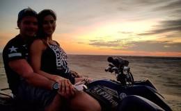 Mario Hart y Korina Rivadeneira pasaron romántico fin de semana en Colán