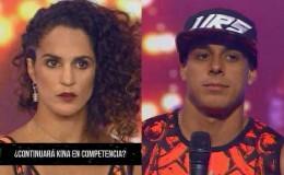 EEG: así reaccionaron Kina Malpartida y Hugo García tras ser eliminados