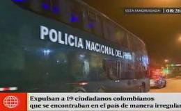 Migraciones: 19 colombianos fueron expulsados del país por infringir la ley