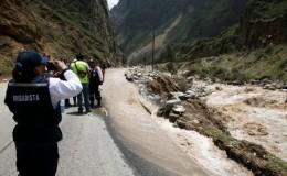 Matucana: huaico en la Carretera Central ocasionó la muerte de dos personas