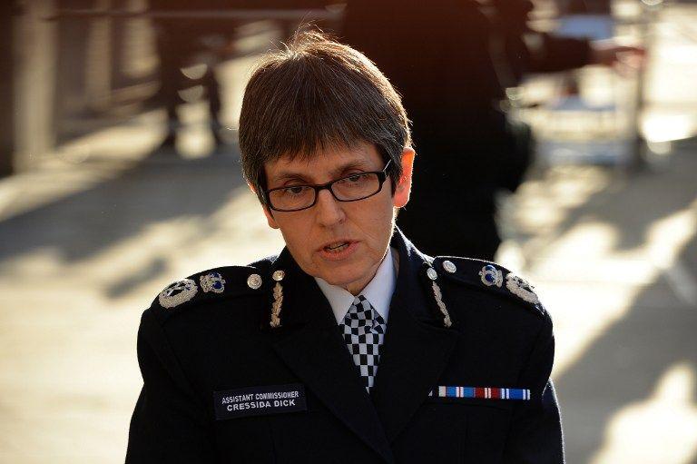 La comisionada adjunta de la policía, Cressida Dick. (Vía: AFP)