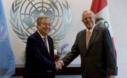 PPK se reunió con el secretario general de la ONU