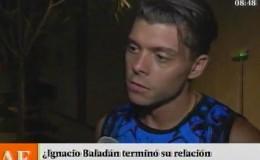 Ignacio Baladán ya no desea hablar más de su ex pareja