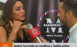 Isabel Acevedo confesó esto sobre su relación con Christian Domínguez