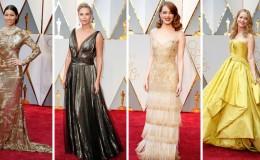 Óscar 2017: las mejor y peor vestidas en la alfombra roja