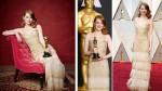 Óscar 2017: las mejor y peor vestidas en la alfombra roja - Noticias de perla negra
