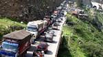 Carretera Central: cierran circulación en transitada vía hasta mañana - Noticias de