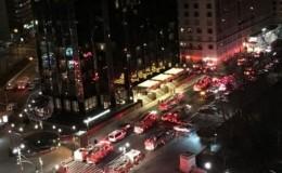 New York: incendio se registró en el piso 47 de la Trump Tower