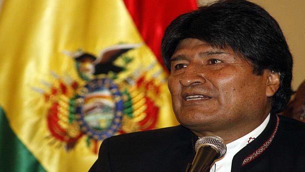 Evo Morales. Foto: Difusión