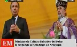Arequipa: esta fue la respuesta del ministro Salvador del Solar al arzobispo