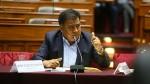 Velásquez Quesquén calificó de poco consistente denuncia de la Procuraduría - Noticias de gilles ste croix