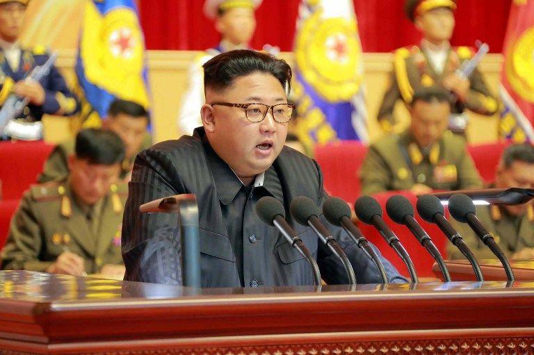 Kim Jong-Un. (Vía: AFP)