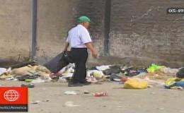 Carabayllo: denuncian acumulación de basura cerca a colegios