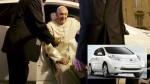 El papa Francisco da una lección al mundo con este vehículo - Noticias de eco-friendly