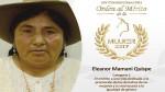 Día Internacional de la Mujer: MIMP distinguió a 13 mujeres a nivel nacional - Noticias de ana mendoza