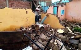 Chiclayo: se desploman más de 60 casas en Ferreñafe tras desborde de río