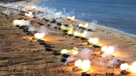 Resultado de imagen para Ejercicios de EE.UU. y Corea del Sur Hoy martes