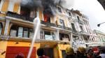 Lima: Defensa Civil señala que incendio en casona podría reiniciarse - Noticias de mario casaretto