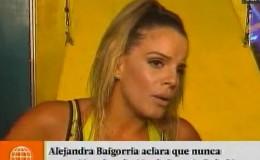 Alejandra Baigorria aclaró que no se metió en relación de Ignacio Baladán