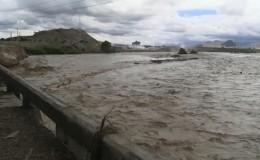 La Libertad: desborde del río Chicama afecta carretera en zona de Chiclín
