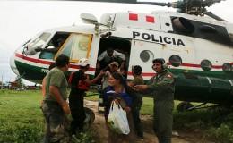 Chiclayo: rescatan a pobladores que quedaron atrapados en Jayanca