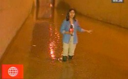 Carretera Central: by pass en el Km. 8.5 terminó inundado tras lluvias