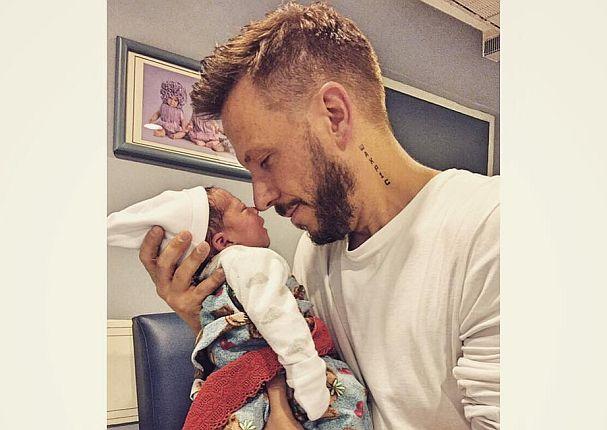 Noel Schajris anunció el nacimiento de su segundo hijo. Foto: Facebook