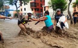 Huaicos y desbordes: este es el reporte de los daños generados hoy