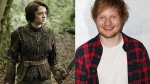 Ed Sheeran se suma al elenco de 'Game of Thrones' - Noticias de david austin