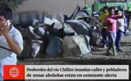 Puente Piedra: alcalde denunció que no cuentan con muros de contención