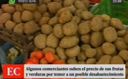Algunos alimentos han subido de precio por huaicos en la Carretera Central