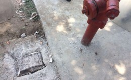 Jesús María: vecinos intentaron destruir buzón de agua