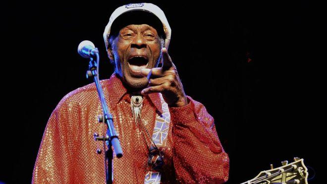 Falleció Chuck Berry