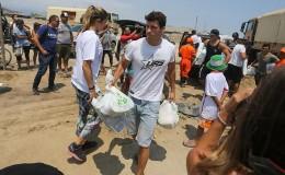 Competidores de EEG llevaron ayuda a damnificados en Punta Hermosa