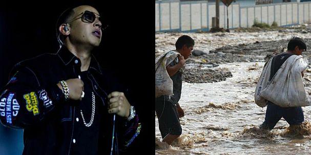 Daddy Yankee se solidariza con el Perú tras fuertes huaicos